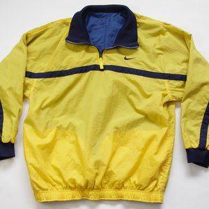 Vintage Nike Reversible Pullover Windbreaker Jkt